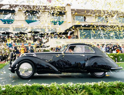 Pebble Beach Concours d'Elegance winner and mashup