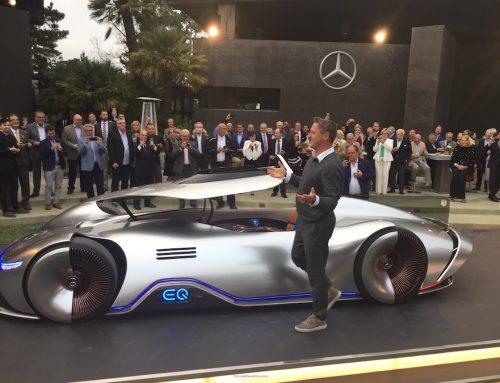 Mercedes-Benz EQ electric concept rebirth of a legend