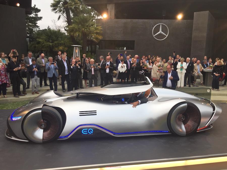 Mercedes-Benz EQ electric concept rebirth of a legend   DrivingtheNation