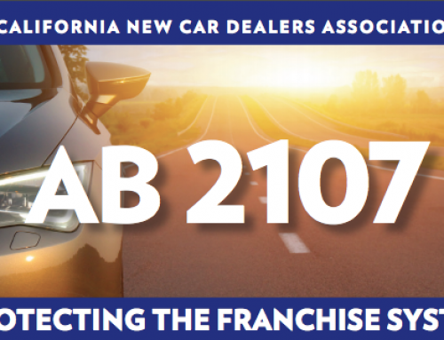 California legislature to strengthen car dealer franchise laws