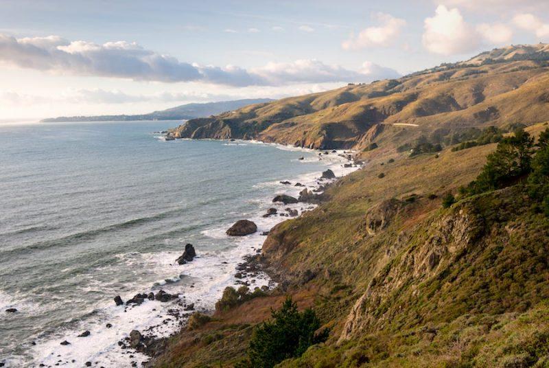 Northern_California_Coast California's Brown blocks Trump offshore drilling