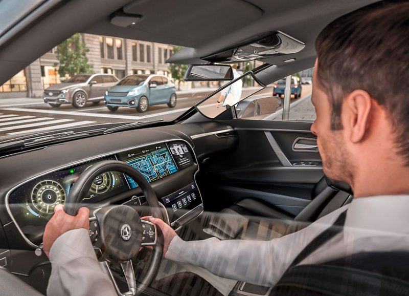 Continental makes wide A-pillars virtually see-through