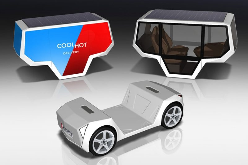 Rinspeed MicroSNAP at CES 2019