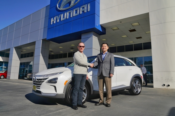 HYUNDAI DELIVERS FIRST 2019 NEXO FUEL CELL SUV