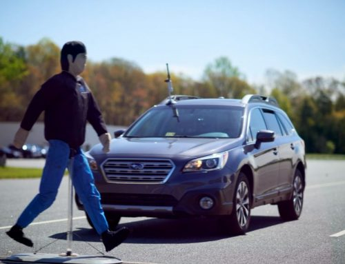 IIHS launches test for automatic emergency braking to detect pedestrian
