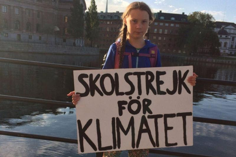 Kid strike for climate attending COP