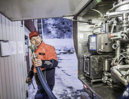 Udderly amazing ~ milk trucks reduce emissions
