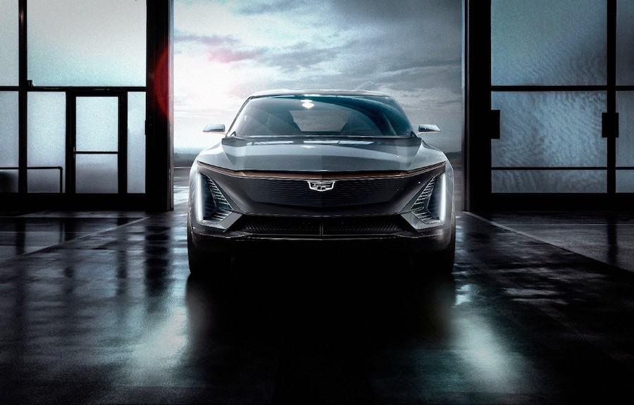 Cadillac Shows flagship First Fully Electric EV