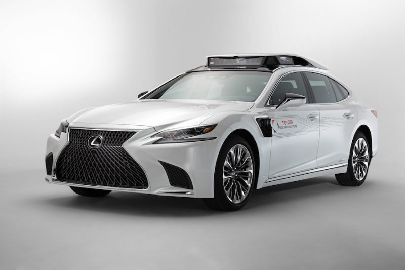 Toyota Research is driving forward autonomously at CES