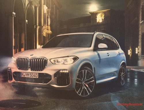 2019 BMW X5 with integral active steering