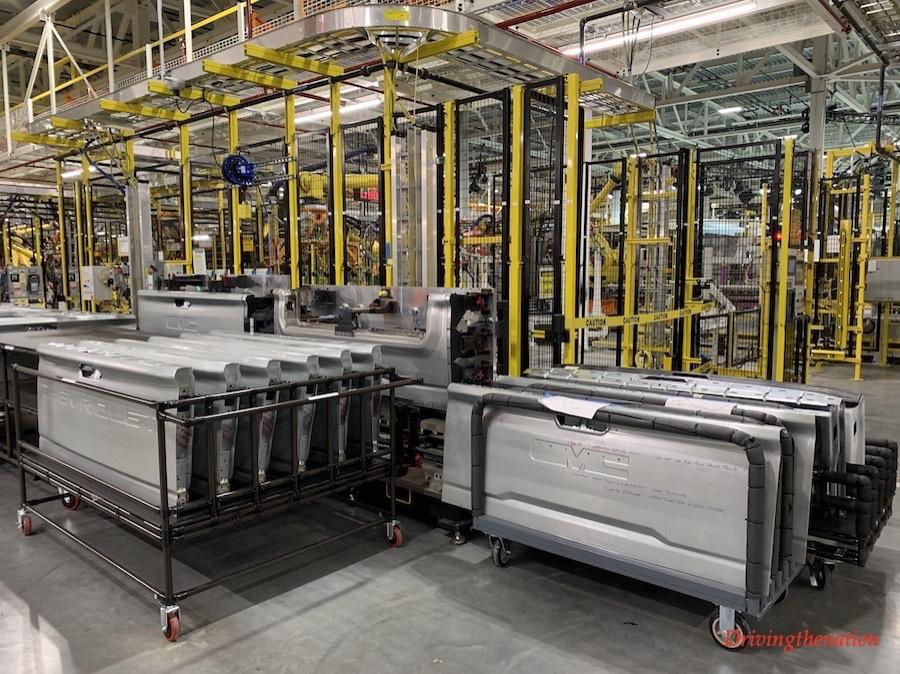 2020 Chevy Silverado Heavy Duty manufacturing plant in Flint, Michigan