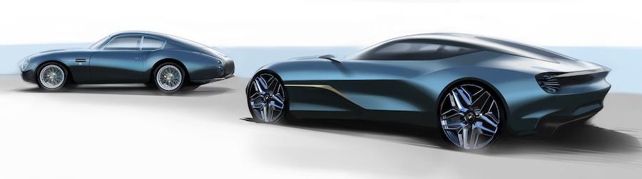 aston martin DB4 GT Zagato Continuations and DBS GT Zagato