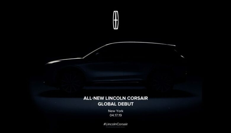Lincoln to unveil all-new Corsair SUV at NYIAS