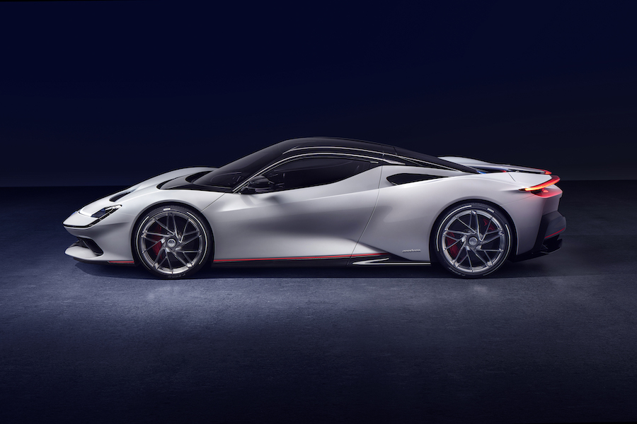 Pininfarina Battista first EV Luxury Hyper GT at Greentech