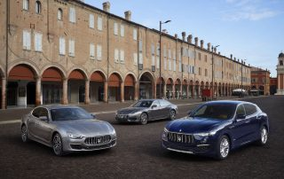 2019 Maserati Left to Right_Ghibli_Quattroporte_Levante