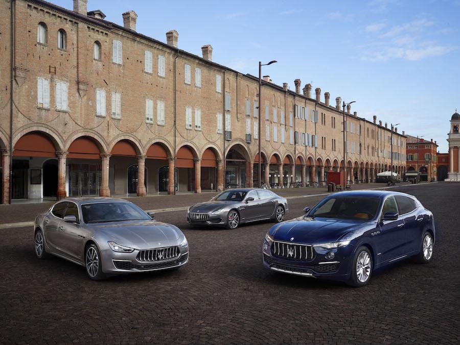 Maserati Levante rising in New York auto show