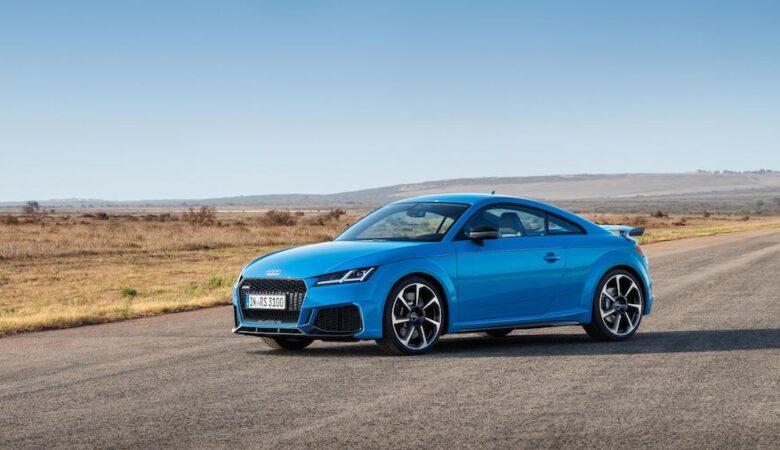 Aktualisierte Audi TT RS in the big Apple