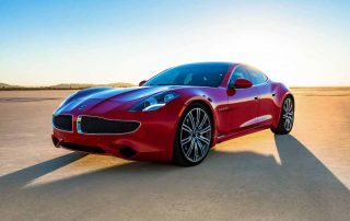 2020 Karma Revero luxury EV with new technology powred by the sun