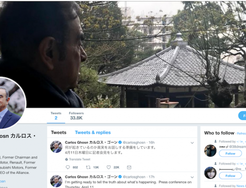 Carlos Ghosn Joins Twitter Promises to Tell the Truth