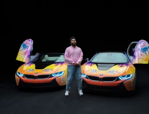 Khalid drives the road to Coachella with BMWi