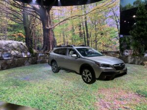 subaru-outback-300x225 Trends from the New York International Auto Show Lincoln New York International Auto Show (NYIAS) Rivian Subaru