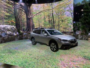 Best car display - Subaru