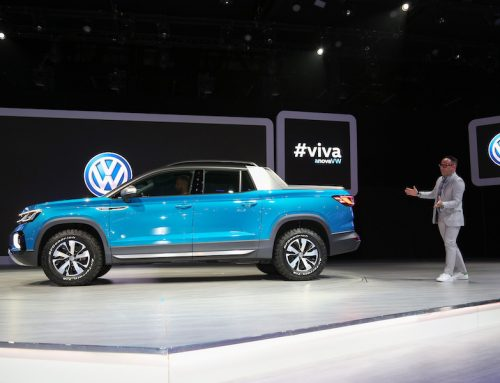 VW unveils the Tarok concept truck at NYIAS