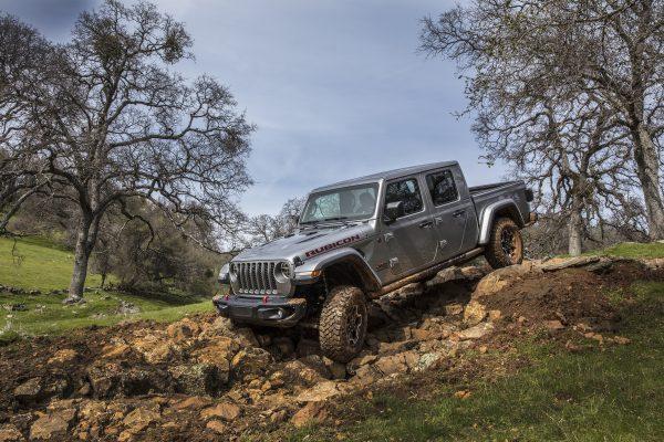 2020 Jeep Gladiator Rubicon wins topless in Miami