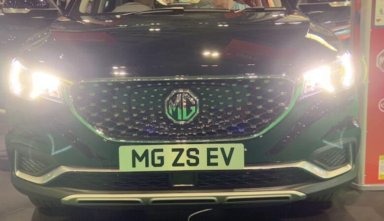 MG ZS EV SUV debuts at the London Motor Show
