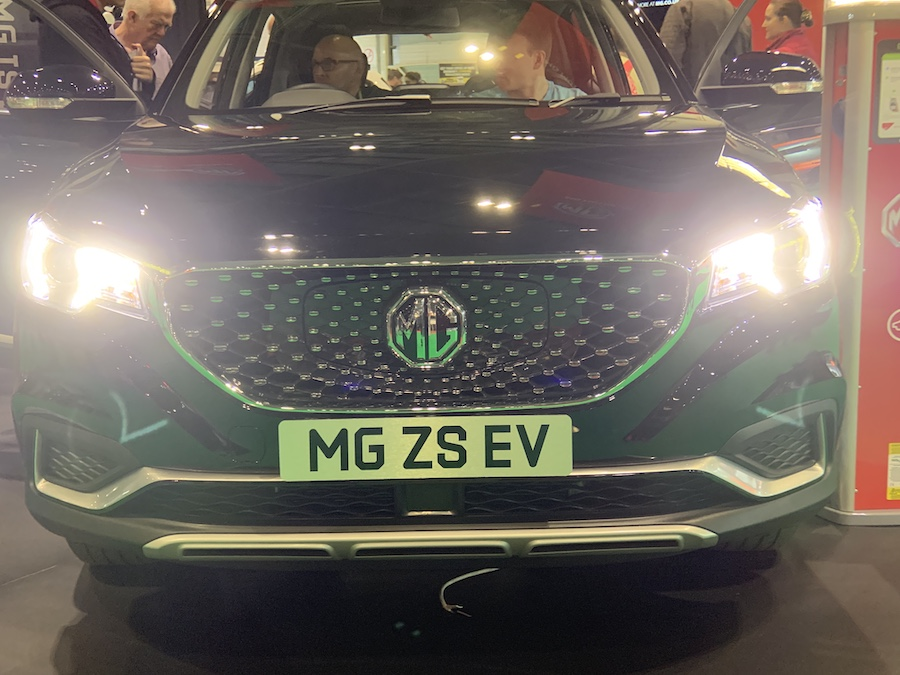MG ZS EV SUV debuts at the London Motor Show