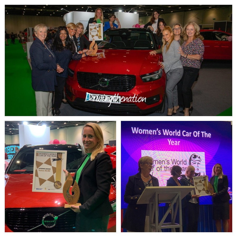 fiona-wwcoty-wow WWCOTY awards Volvo and WOW at the London Motor show Jaguar Volvo Women's World Car of the Year (WWCOTY)