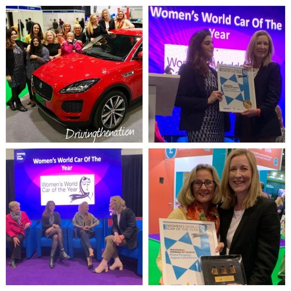 WWCOTY awards Fiona Pargeter WOW - Woman of Worth - at the London Motor show