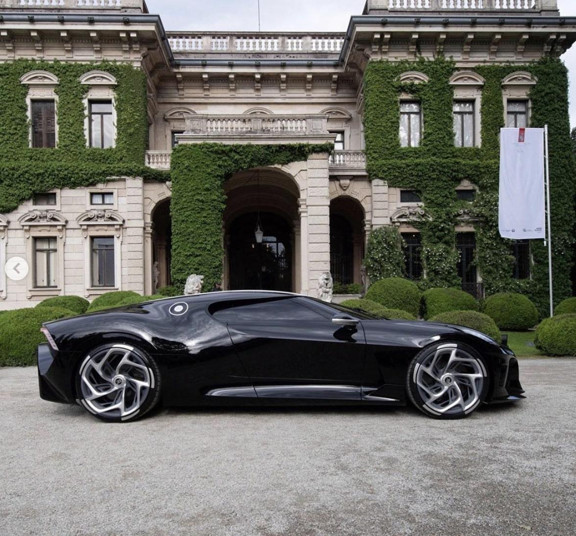 Bugatti La Voiture Noire at Concorso d'Eleganza Villa d'Este