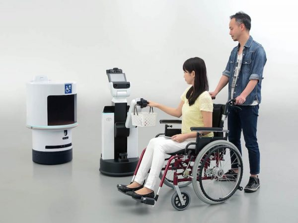 HSR_Human_Support_Robot_DSR_Delivery_Support_Robot-600x449 Toyota supplies mobility for all at 2020 Olympics in Japan Autonomous vehicles Robots Toyota