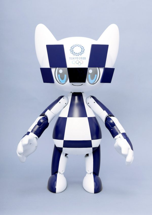 Tokyo_2020_Mascot_Robot_Miraitowa-600x851 Toyota supplies mobility for all at 2020 Olympics in Japan Autonomous vehicles Robots Toyota