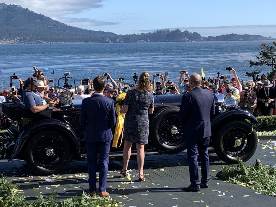 1931 Bentley Wins Best of Show at 2019 Pebble Beach Concours d'Elegance
