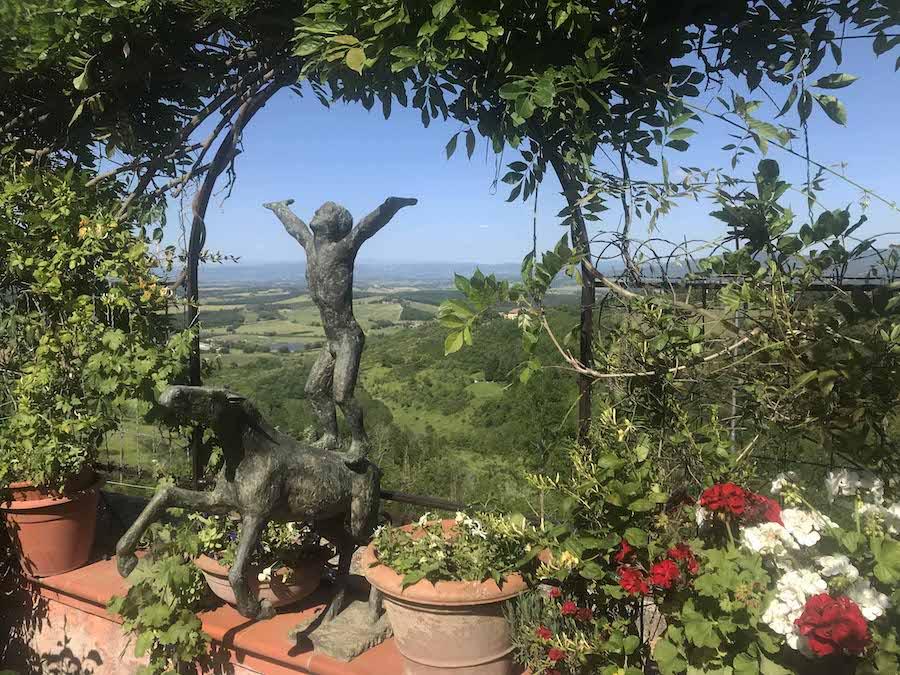 Experiencing art in Italy's Casole d'Elsa Medieval Village