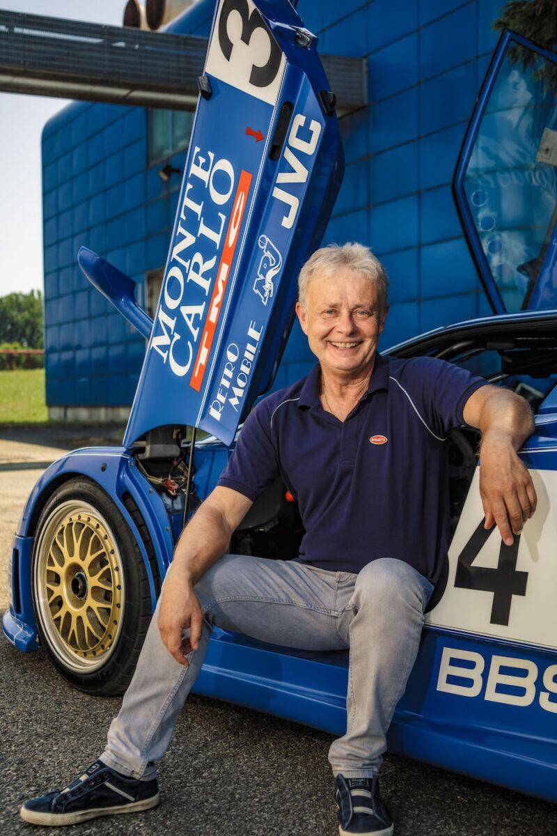 Loris Bicocchi ~ The man with the most seat time in a Bugatti