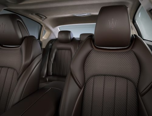 100 Maseratis with exclusive Zegna leather at Monterey Car Week