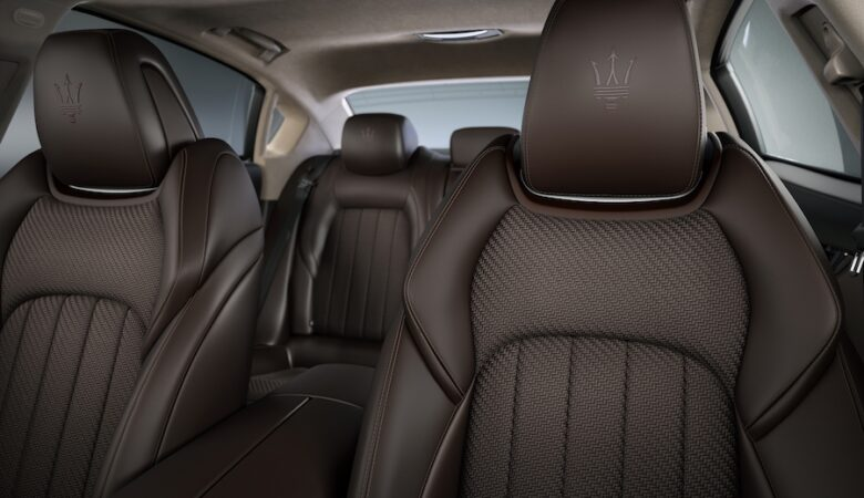 200 Maseratis with exclusive Zegna leather at Monterey Car Week
