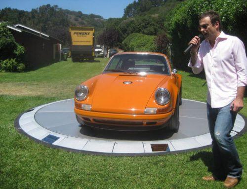 Singer celebrates 10-year anniversary at Monterey Car Week