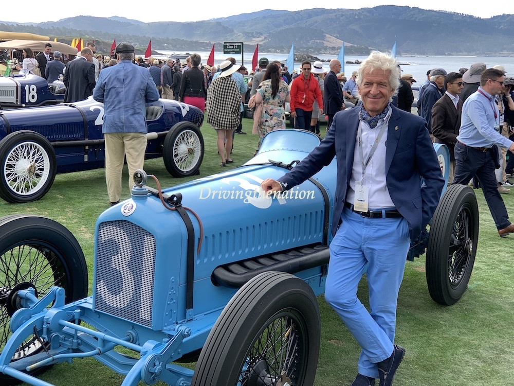 Pebble Beach Tour d'Elegance video and the 18th Green pictures