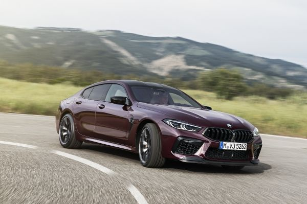 2020 BMW M8 Gran Coupe and M8 Gran Coupe Competition