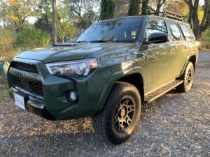 2020-toyota-4runner-trd-pro-grille-300x225 2020 Toyota 4Runner TRD Pro drive with pricing and specs Toyota