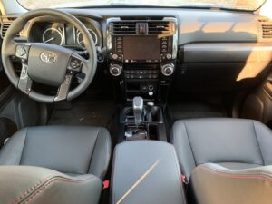 2020-toyota-4runner-trd-pro-interior-300x225 2020 Toyota 4Runner TRD Pro drive with pricing and specs Toyota