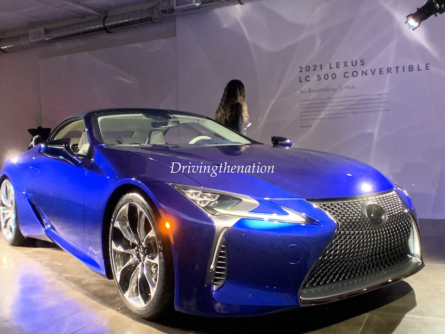 2021 Lexus LC 500 Convertible Global Debut at LA Auto Show ...