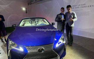 2021 Lexus LC 500 Convertible Global Debut at LA Auto Show