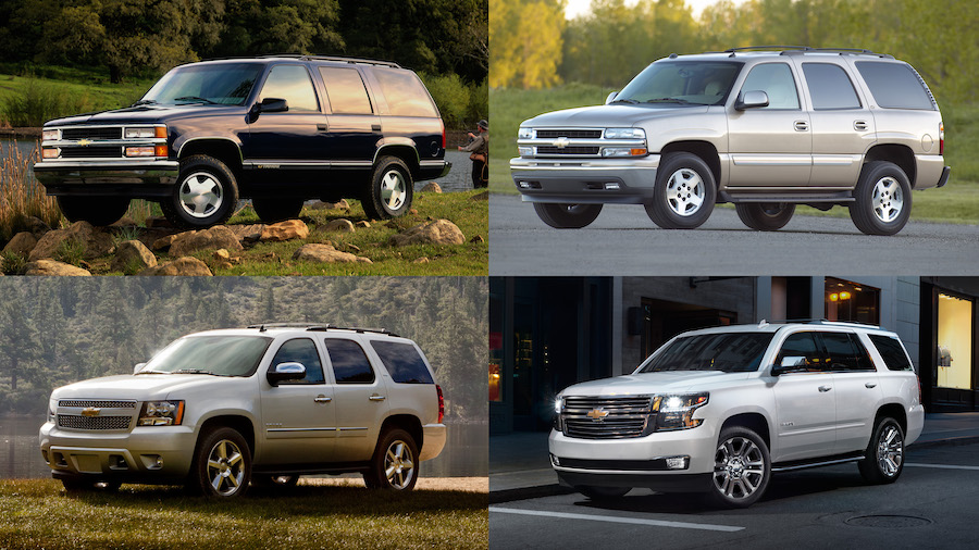 Chevy Tahoe turns 25 and gets awards
