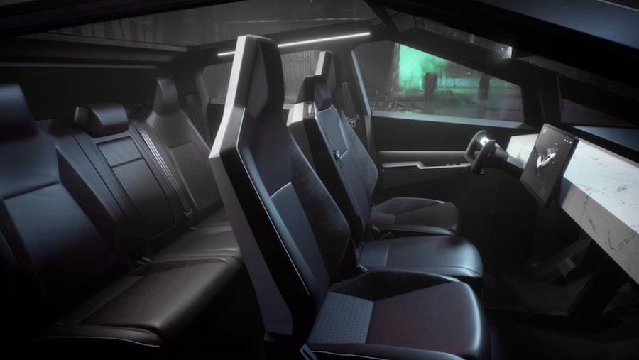 tesla-cybertruck-interior- Mad Musk and the Tesla Cyborg's Cybertruck California Tesla