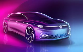 Volkswagen ZEV ID. SPACE VIZZION CONCEPT at LA Auto show